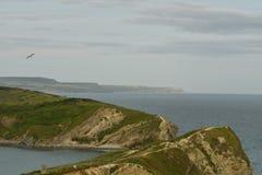 Landskape океана от скал Стоковое Изображение RF