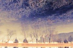 Landskape отражения стоковая фотография rf