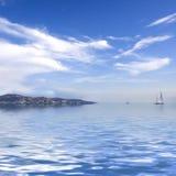 Landskape mediterráneo Foto de archivo