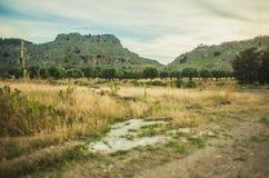 Landskape. And mountains, Greece, Rhodes Stock Photography