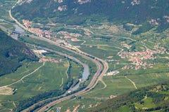 Landskapet av royaltyfri foto