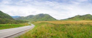 Landskapet av de Altai bergen arkivbild