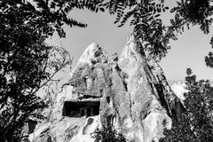 Landskapet av naturligt vaggar bildandefantasi eller den Devrent dalen, Cappadocia, Goreme, Turkiet royaltyfri fotografi