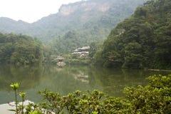 Landskapet av qingchengberget Royaltyfri Bild
