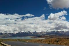 Landskapet av Tibet Arkivbild