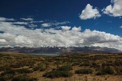 Landskapet av Tibet Arkivfoto