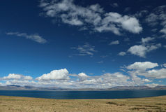 Landskapet av Tibet Royaltyfria Foton