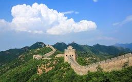Landskapet för stor vägg Arkivfoto