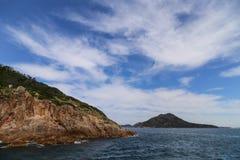 Landskapet i portstephens, Australien Arkivbild