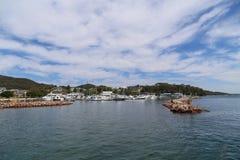 Landskapet i portstephens, Australien Arkivfoto