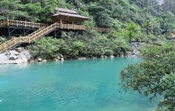 Landskapet i sceniska fläckar för libozhangjiang, guinzhou, porslin royaltyfria bilder