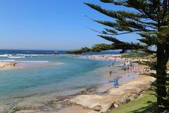 Landskapet i sjöingången, Australien royaltyfri foto