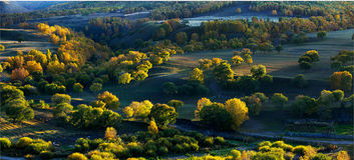 Landskapet i västra Sichuan Royaltyfria Foton