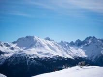 LandskapEuropa för berg alpin österrikare Royaltyfri Fotografi