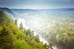 Landskapflod Royaltyfria Bilder