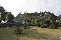 Landskapfoto av ett gammalt fort royaltyfri fotografi