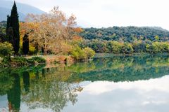 Landskaphöst Italien Royaltyfri Fotografi