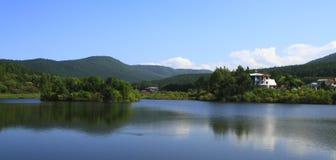 Landskaplandskap av Mudanfeng Arkivbilder