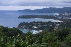 LandskapPhuket hav Thailand Arkivfoton