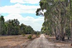Landskapplats av den Serendip fristaden i Lara, Victoria, Australien royaltyfri bild