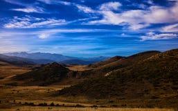 Landskapsikt av det Bistra berget Royaltyfria Foton