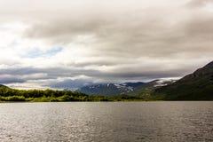 Landskapsikt i den svenska norden Arkivbilder
