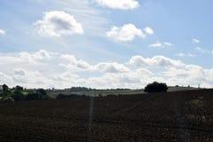 Landskapskott Alfreton i derbyshire Arkivfoto