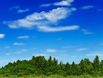 landskapsommar Arkivbild