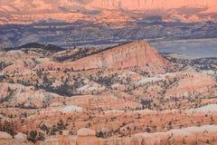 Landskapsten i Bryce Canyon royaltyfria foton