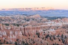 Landskapsten i Bryce Canyon royaltyfria bilder