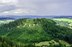 Landskaptjeck Arkivfoto