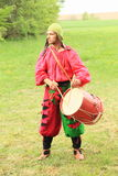 Landsknecht drummer Stock Photos