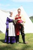 Landsknecht familj Arkivfoto