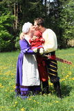 Landsknecht family Stock Images