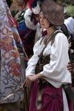 landsknechts pavia девушки сражения стоковые изображения