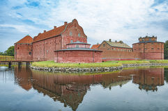 Landskrona Citadel Castle Royalty Free Stock Photo