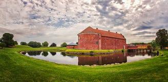 Landskrona citadel. Image of Landskrona Citadel on a cloudy morning stock images