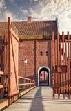 Landskrona citadel in sweden Royalty Free Stock Photography