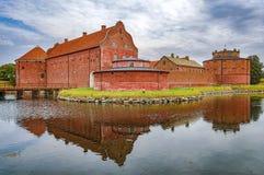 Landskrona cytadela w Sweden obrazy stock
