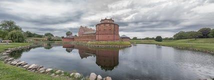 Landskrona cytadeli panorama Obraz Stock