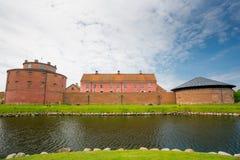 Landskrona kasztel, Szwecja obrazy royalty free