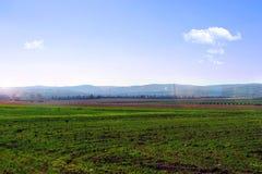 Landslandskap Royaltyfria Bilder