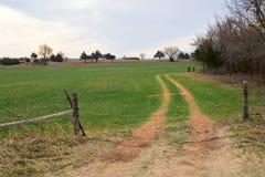 landslane Arkivfoto