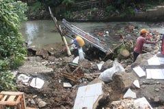 Landslide Stock Photo