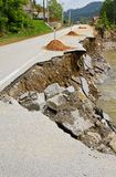 Landslide damage Royalty Free Stock Photography