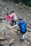 Landslide destroy Royalty Free Stock Photo