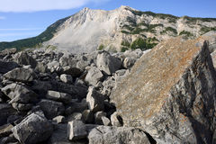 Landslide Frank Alberta Royalty Free Stock Image
