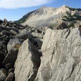 Landslide Frank Alberta Stock Image