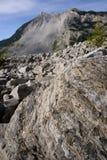 Landslide Frank Alberta Royalty Free Stock Photo
