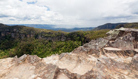 Landslide Lookout in Blue Mountains Australia Stock Photo
